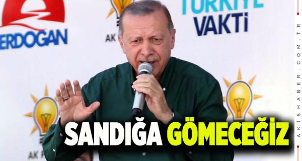Erdoğan Denizli'de Halka Seslendi