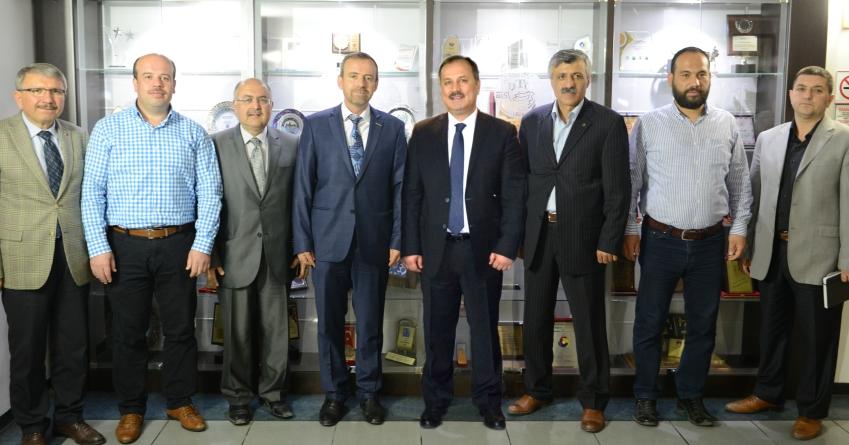 MÜSİAD Yeni Yönetimi Denizli Ticaret Odası'nı Ziyaret Etti