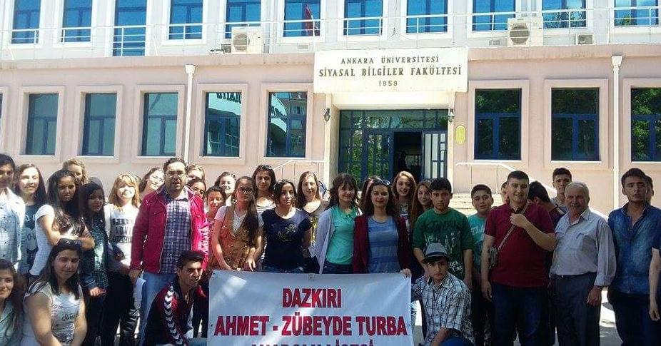 Dazkırılı Öğrenciler Başkent'te