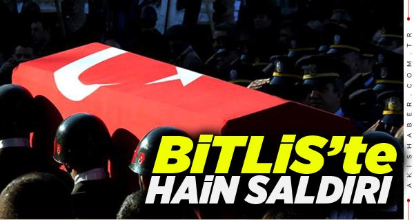 Bitlis'ten Şehit Haber