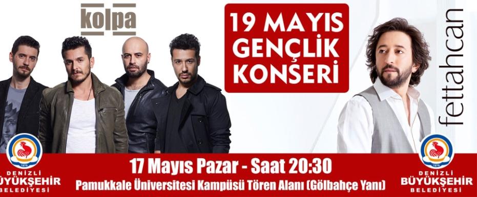 19 Mayıs'ta Gençler Eğlenceye Doyacak