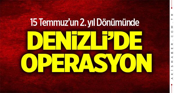 12 Şehir ve Denizli'de FETÖ operasyonu: 20 gözaltı