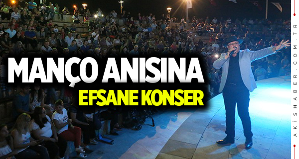 Denizli'deki konserde unutulmaz Barış Manço gecesi