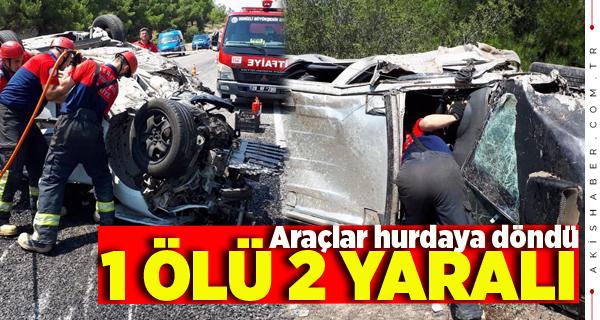 Buldan'da Korkunç Kaza