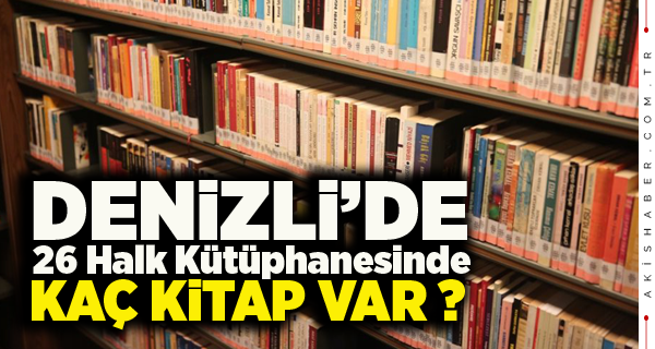 TÜİK Kütüphane Verileri Açıklandı