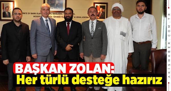 Başkan Zolan'a Katar'dan Misafir