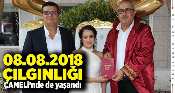 08.08.2018 Nikahını Başkan Arslan Kıydı.