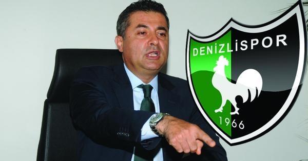 Denizlispor'da Başkan Kıbrıslıoğlu İstifa Etti