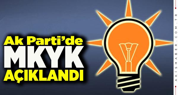 AK Parti MKYK'da Denizlili Var mı ?