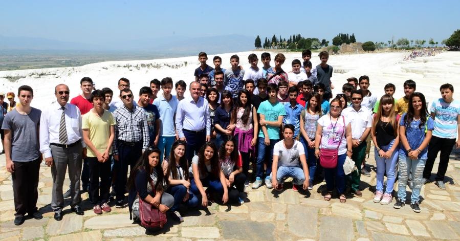 Başarılı Öğrenciler Beyaz Cennetle Buluştu