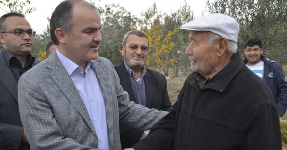 Başkan Gürlesin Akköy'de..!