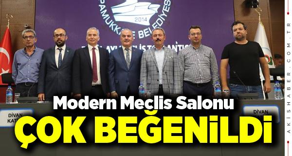 Pamukkale Belediye Meclis Salonu Açıldı