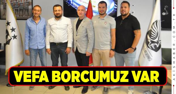 Denizlili Beşiktaşlılar 'Fikret Orman' Dedi