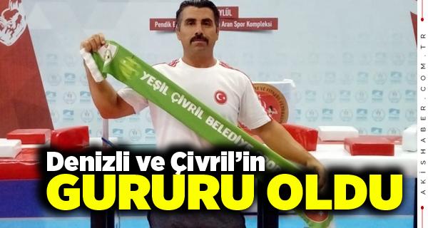 Milli Sporcu Çetin Oğuz'dan Derece