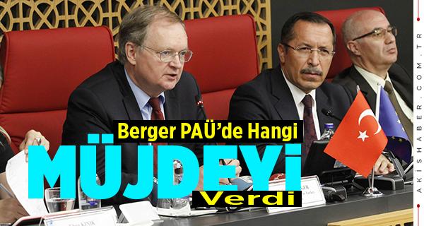 Rektör Bağ, Berger'i PAÜ'de Ağırladı