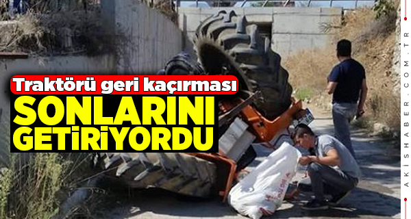 Acıpayam'da Traktör Kazası: 2 Yaralı