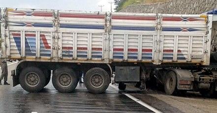 Yağmur Denizli'de Kazaları Beraberinde Getirdi