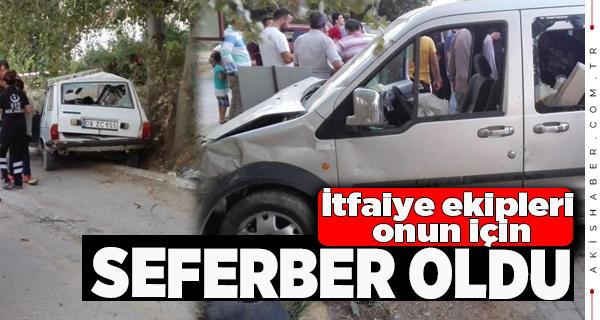 Pamukkale'de Kaza: 6 Yaralı
