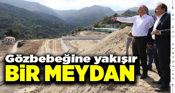 Başkan Zolan Babadağ'da İncelemeler Yaptı
