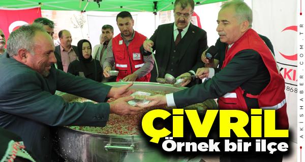 Başkan Zolan Çivril'de Halkla Buluştu