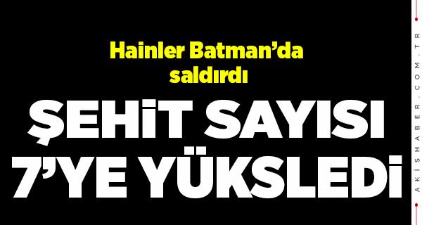 Batman'dan Yürekleri Dağlayan Haber
