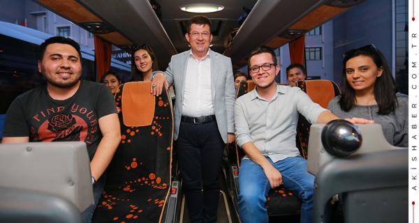 Merkezefendili Gençler İstanbul'a Gidiyor