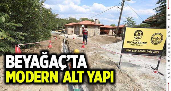 Büyükşehir'den Beyağaç'a modern içme suyu hattı
