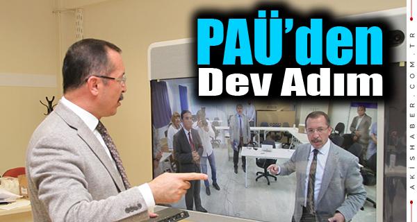 PAÜ'de Teknolojiyle Eğitime Dev Adım