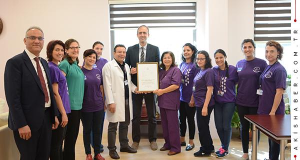 PAÜ Hastanesi'ne büyük onur!