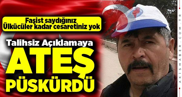 Erhan Akgöz'den Çok Sert Andımız Açıklaması
