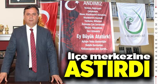 "Başkan Akcan'dan ""Andımız"" Resti"