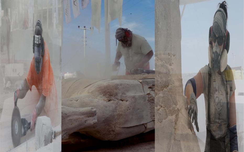Denizli'de 5. Uluslararası Taş Heykel Kolonisi Başladı
