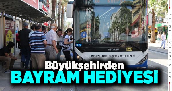29 Ekim'de Otobüsler Ücretsiz