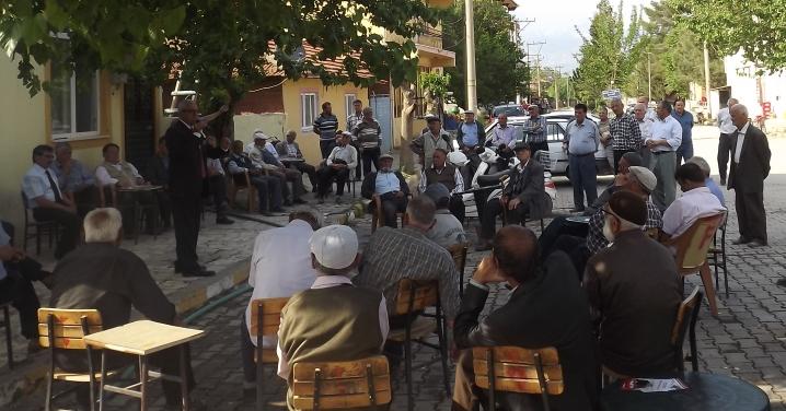 Vatan Partisi Çivril'de Halka Hitap Etti