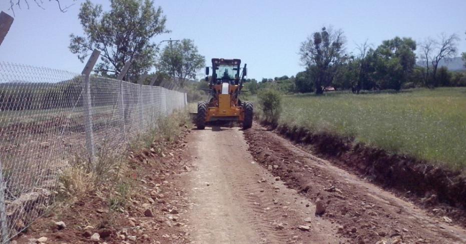Tavas Belediyesi Yol Çalışmalarını Sürdürüyor
