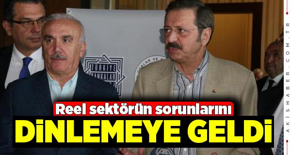 TOBB Başkanı Hisarcıklıoğlu Denizli'de