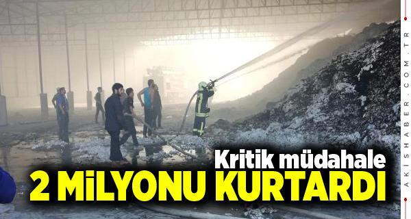 Sarayköy'de Yangın Paniği