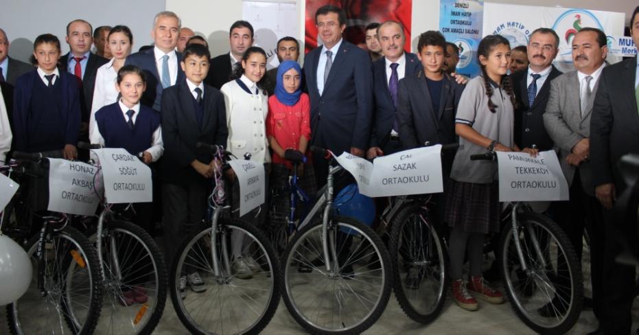 Sağlık Bakanlığından Bisiklet Dağıtımı