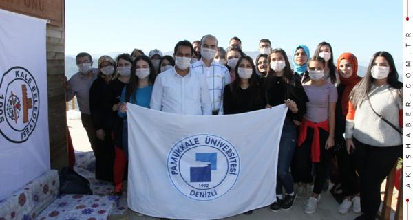 Kale MYO Öğrencileri Sınav Öncesi Rahatladı