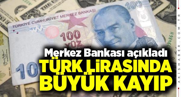 Türk Lirası Değer Kaybediyor