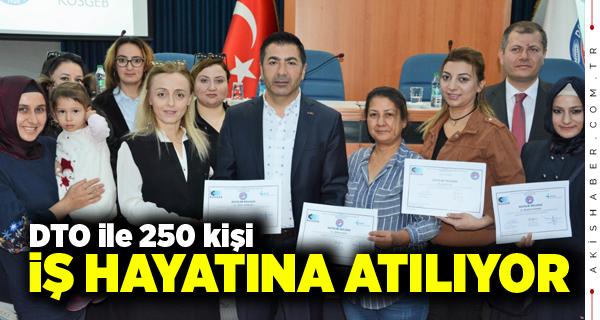 DTO Girişimcilik Eğitiminde Türkiye 1.si