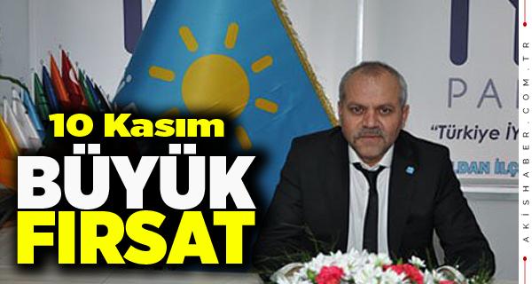 Başkan Tuğrul'dan 10 Kasım Mesajı