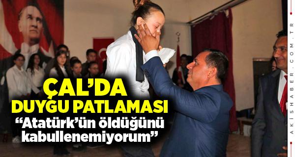 Anma Töreninde Mustafa Kemal Aşkı