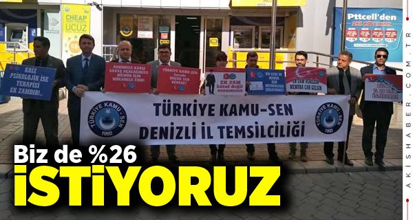 Türkiye Kamu-Sen Cumhurbaşkanı'na Seslendi