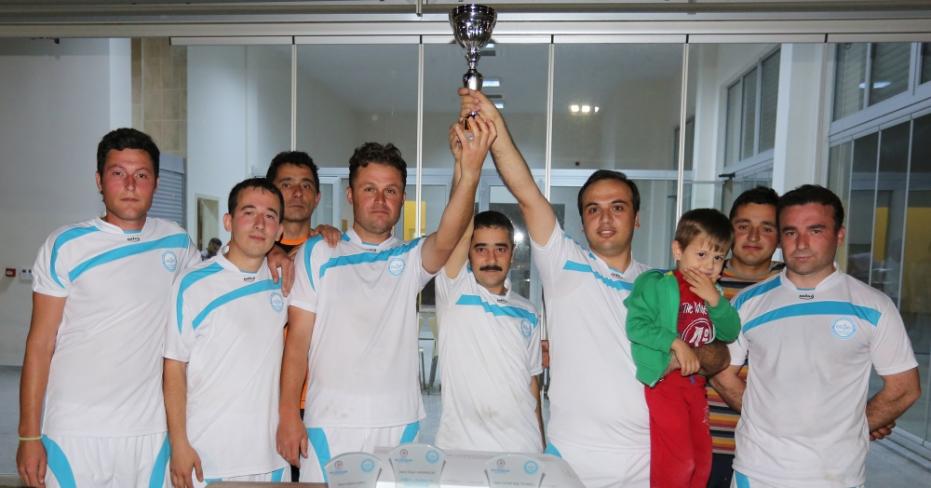 Büyükşehir DESKİ Futbol Turnuvasında 'Horozlar' Şampiyon