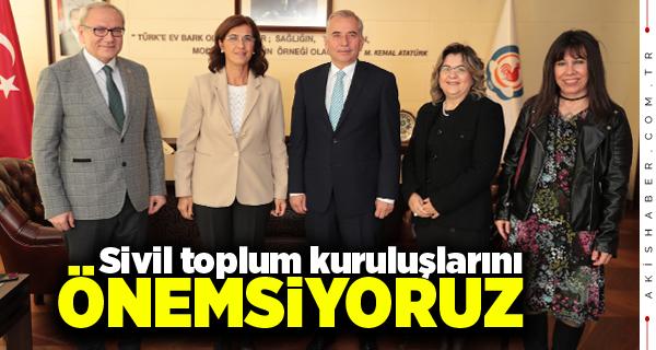 Tabib Odası'ndan Başkan Zolan'a Ziyaret