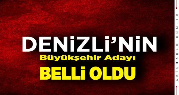MHP Denizli Büyükşehir Adayını Açıkladı