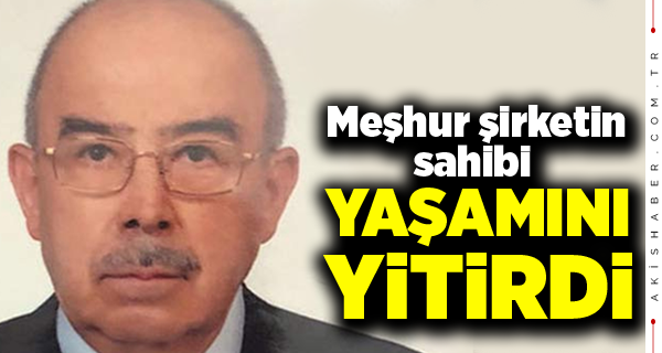 Mustafa Özdemir 83 Yaşında Vefat Etti