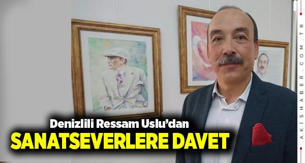 Hakkı Uslu 4. Sergisini Ankara'da Açıyor