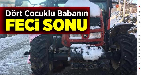 Denizli'de Korkunç Traktör Kazası